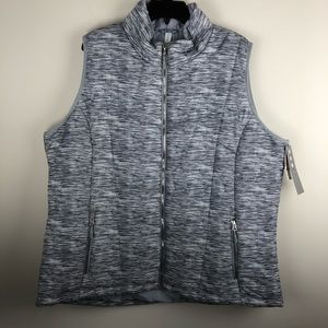 NWT Ideology Active Vest Outerwear 2X N901